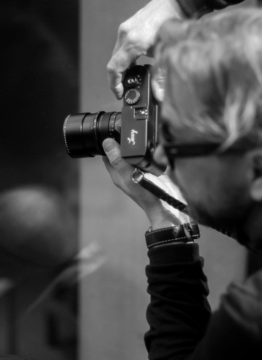 Thorsten von Overgaard shooting in Paris.