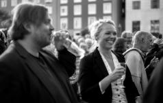 Actors Nicolas Bro og Trine Pallesen.