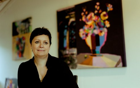 Artist Ann-Lisbeth Sanvig