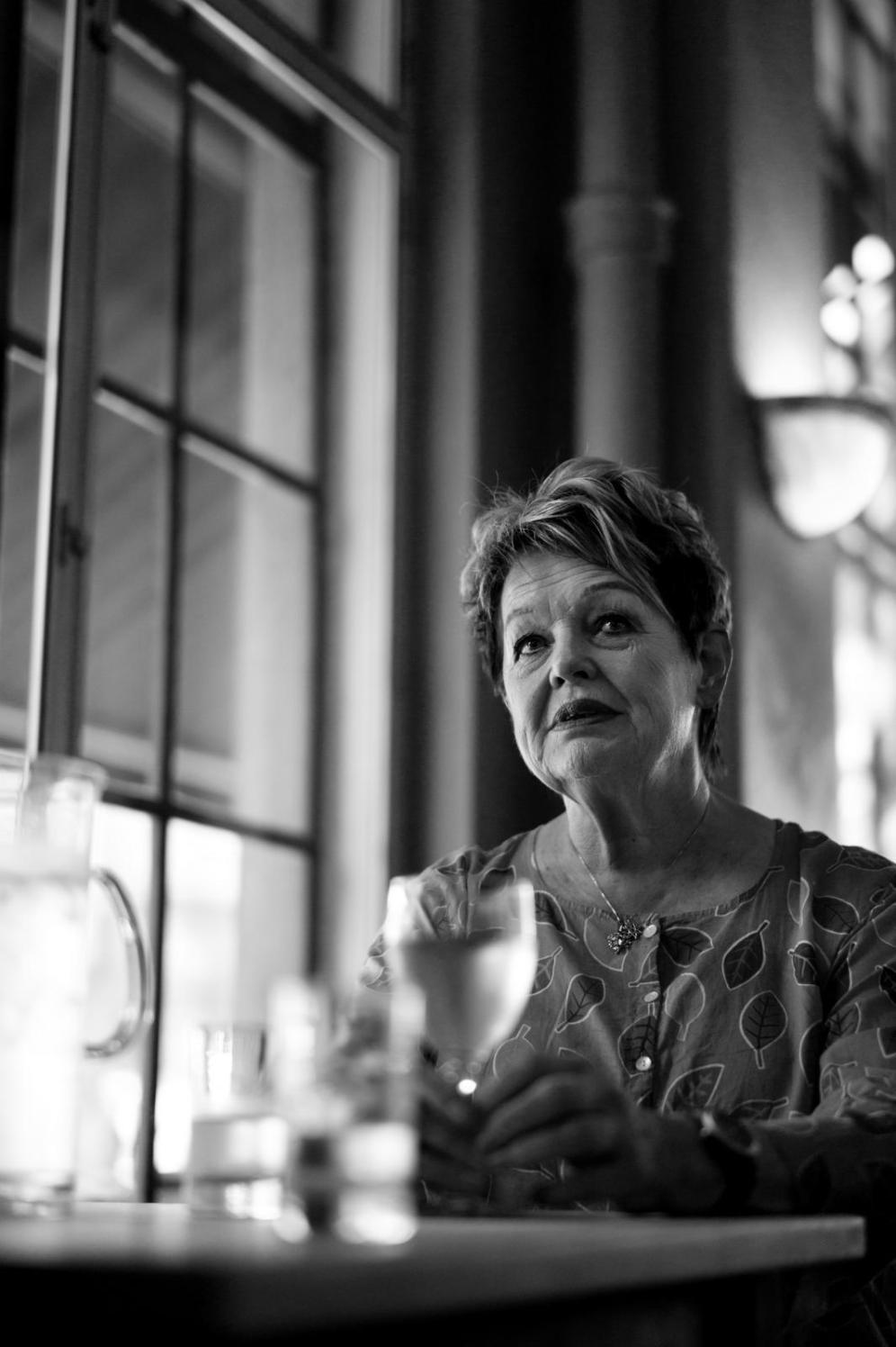 Skuespiller Ghita Nørby.