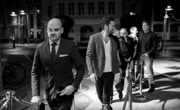 David Dencik, Nikolaj Lie Kaas, Ole Thestrup og Anders Thomas Jensen.