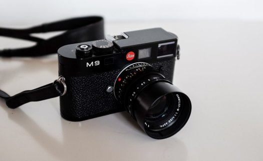 Leica M9 med Summilux 50mm f1.4 asph.