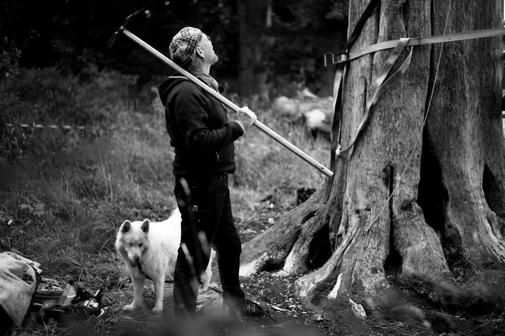 Billedhugger Niels-Erik Øhlenschlæger.Foto: Morten Albek.